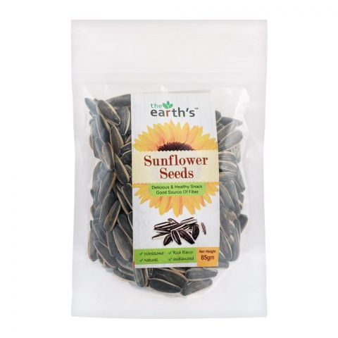 The Earth's Sunflower Seeds, 100g