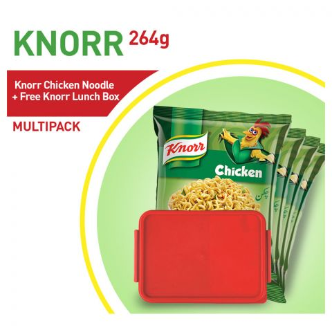 Knorr Chicken Noodles + Free Knorr Lunch Box