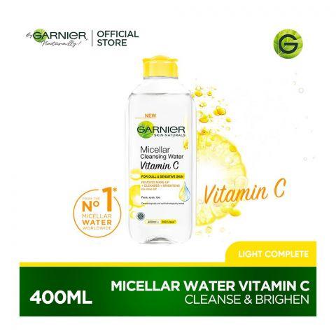 Garnier Skin Naturals Vitamin C Micellar Cleansing Water 400ml