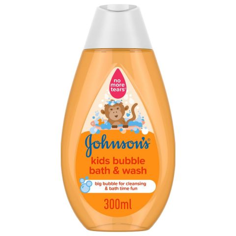 Johnson's Kids Bubble Bath & Wash, 300ml