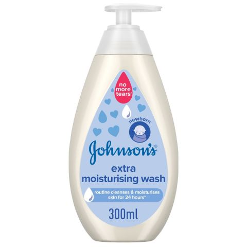 Johnson's Extra Moisturising Baby Wash, 300ml