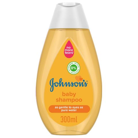 Johnson's As Gentle To Eye As Pure Water 0% Alcohol Baby Shampoo, Italy, 300ml