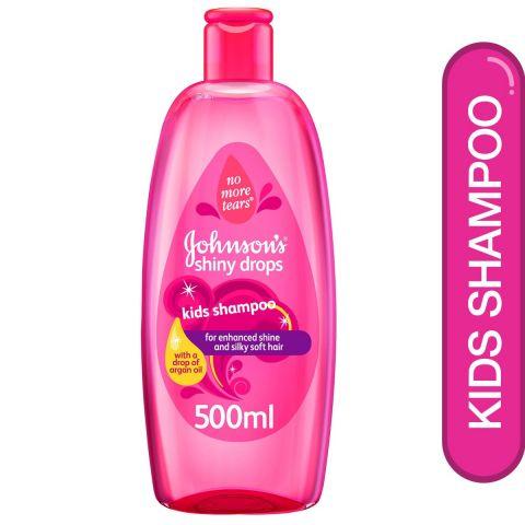 Johnson's Shiny Drops Kids Shampoo, 500ml