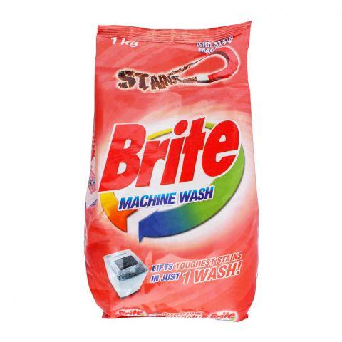 Brite Machine Wash Detergent Powder 1000g