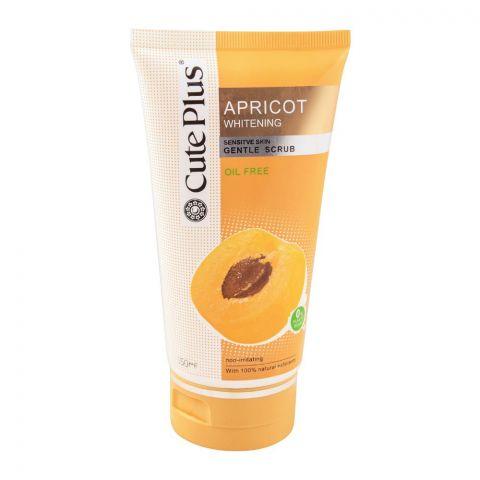 Cute Plus White Series Whitening Apricot Sensitive Skin Gentle Scrub 150ml