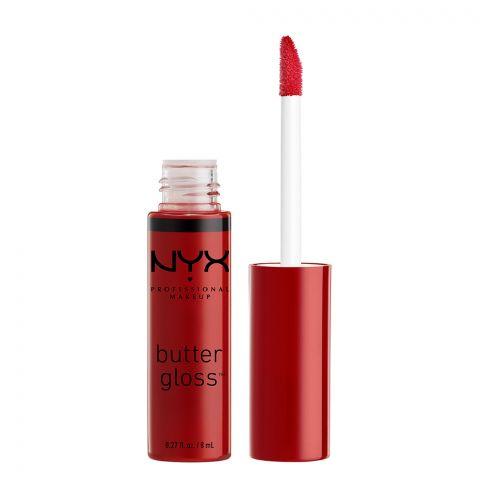 NYX Butter Lip Gloss 20, Red Velvet