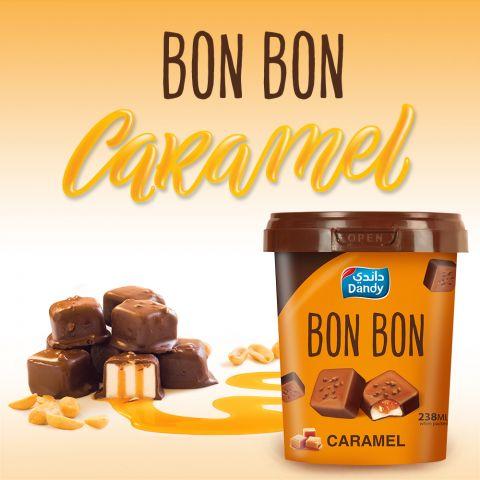 Dandy Bon Bon Caramel Ice Cream 238ml
