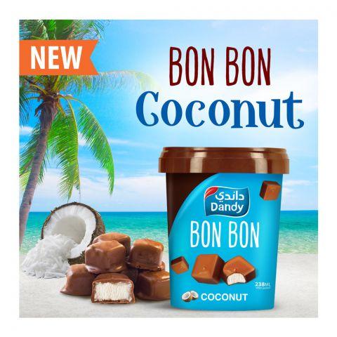 Dandy Bon Bon Coconut Ice Cream, 238ml