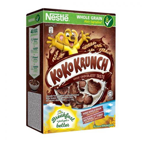 Nestle Koko Krunch Cereal, Whole Grain 170g