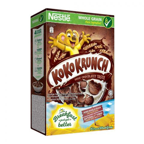 Nestle Koko Krunch Cereal, Whole Grain 330g