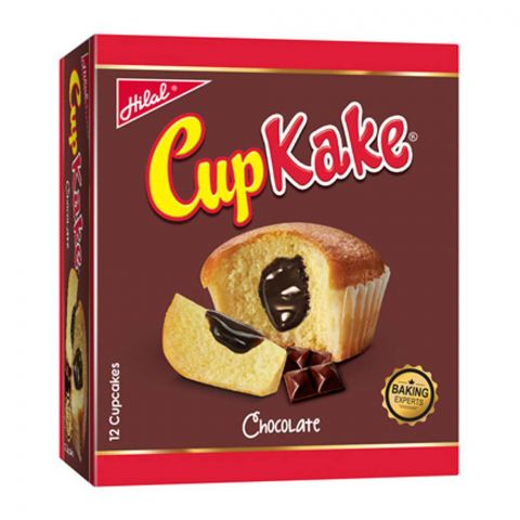 Hilal Cup Kake, Chocolate Sauce, 12 Pieces, 22g