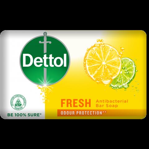 Dettol Fresh Antibacterial Soap 130gm