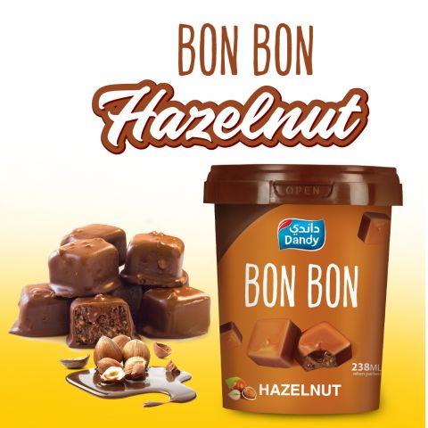Dandy Bon Bon Hazelnut Ice Cream 238ml