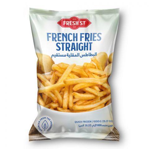 Fresh Street French Fries, Straight, 9x9mm, 1000g