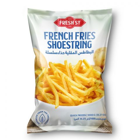 Fresh Street French Fries, Shoestring, 6x6mm, 1000g