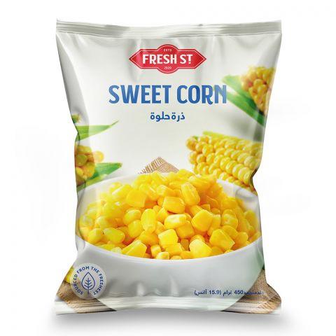 Fresh Street Sweet Corn, 450g
