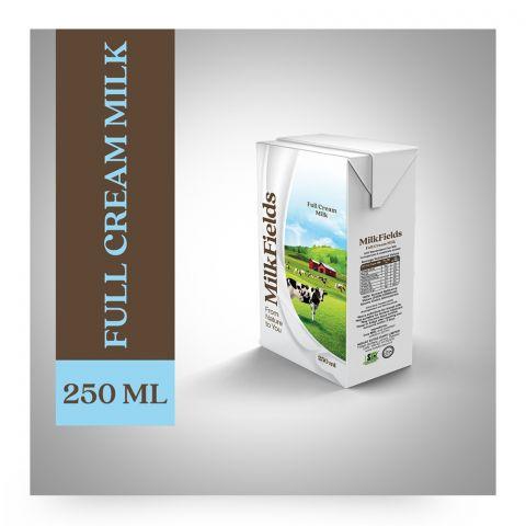 Milk Fields Full Cream Milk, 250ml