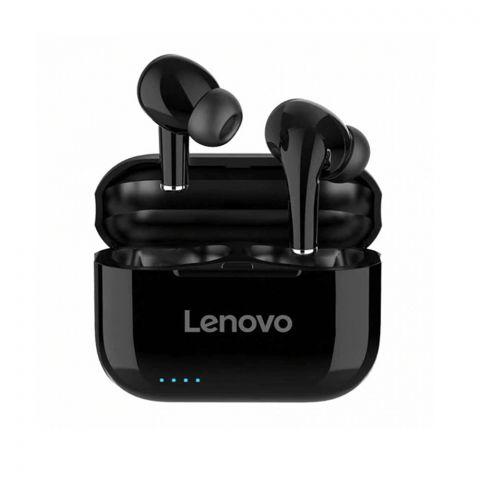 Lenovo LivePods LP1s, True Wireless, Bluetooth Earbuds, Black