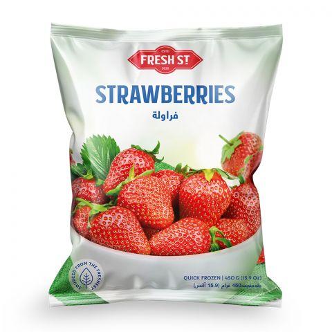 Fresh Street Frozen Strawberries, 450g