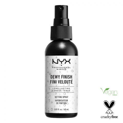 NYX Makeup Setting Spray 02, Dewy Finish Long Lasting
