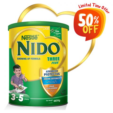 Nido 3+, Growing-Up Formula, 1800g