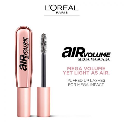 L'Oreal Air Volume Mega Mascara, Noir/Black