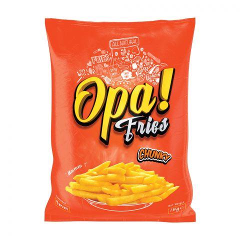Opa! Fries Chunky, 9mm, 1 KG