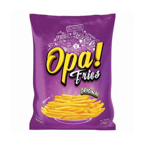 Opa! Fries Original, 6mm, 1 KG