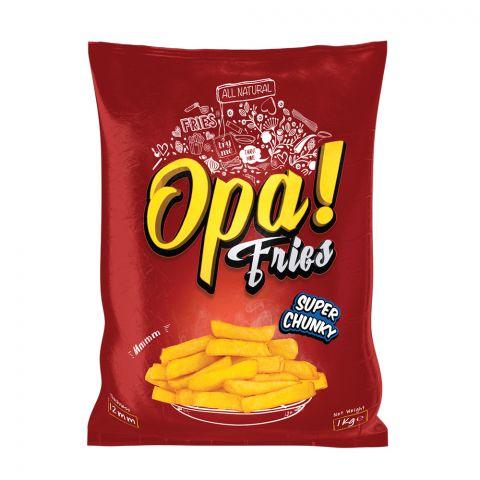 Opa! Fries Super Chunky, 12mm, 1 KG
