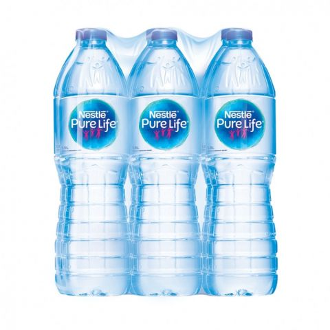 Nestle Pure Life Drinking Water, 1.5 Litres, Buy 5 Get 1 Free