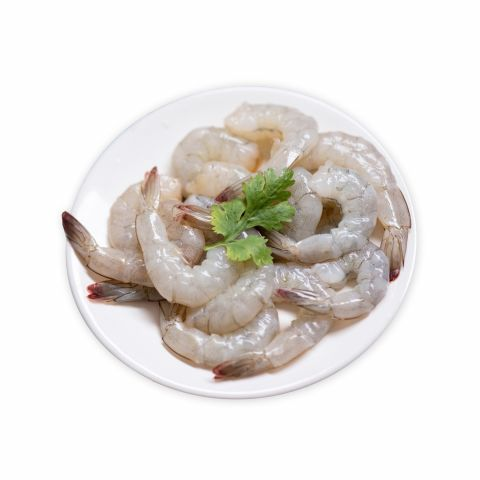 Fresh Prawns, Medium, 1 KG (Gross Weight)