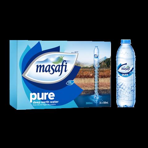 Masafi Pure Drinking Water 500ml x 24 Piece Carton