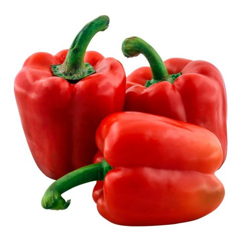 Imported Bell Pepper, Red, 500g