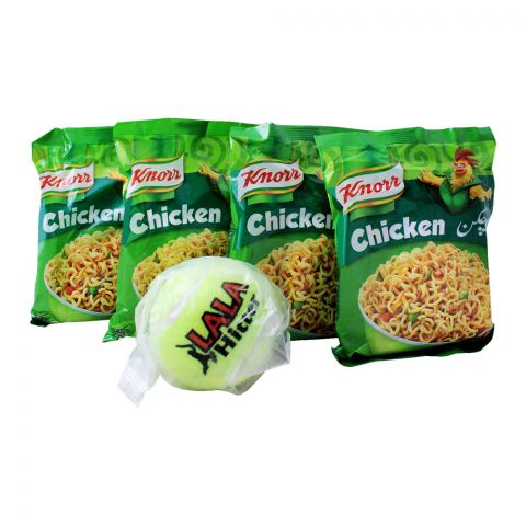 FREE Tennis Ball + Knorr Chicken Noodles 4-Pack